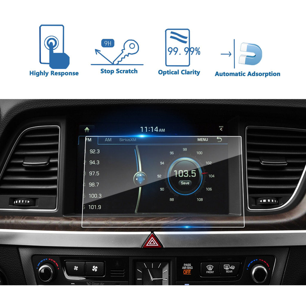 2015 2016 2017 2018 Hyundai Genesis G80 9.2-inch Display Screen Protector