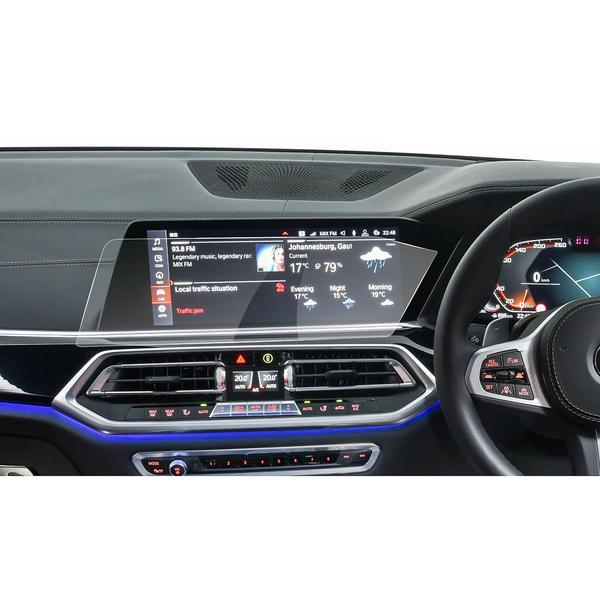 2019 BMW X5 Dashboard እና Navigation 12.3- ኢንች ባለቀጣይ የ Glass መከላከያ (በቀኝ-እጅ አንጻፊ)