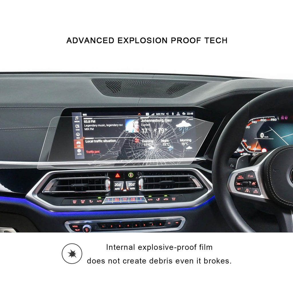 2019 BMW X5 GO5 12.3-Inch Instrument Screen Protector