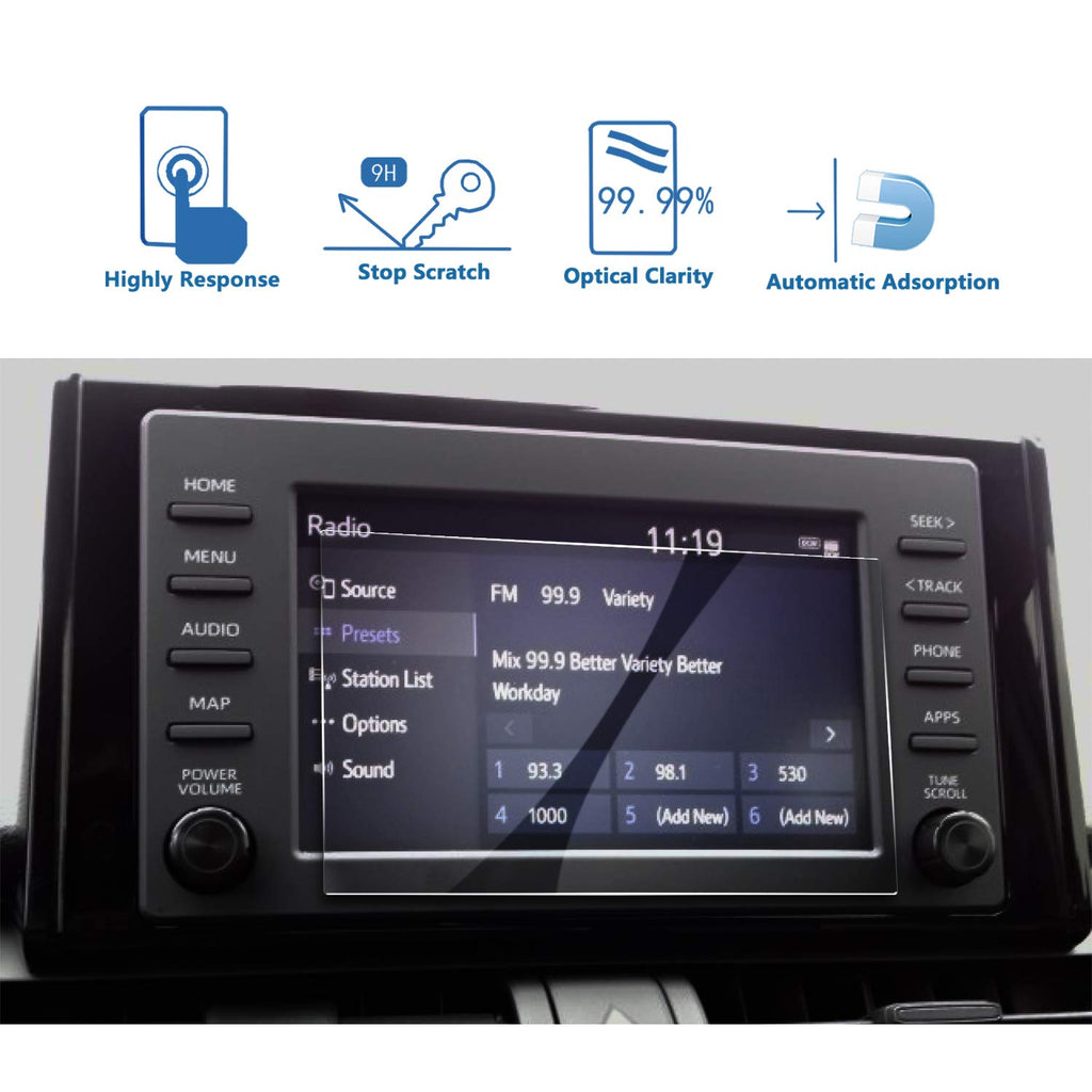 2019 Toyota-Rav4 7-Inch Display Protector