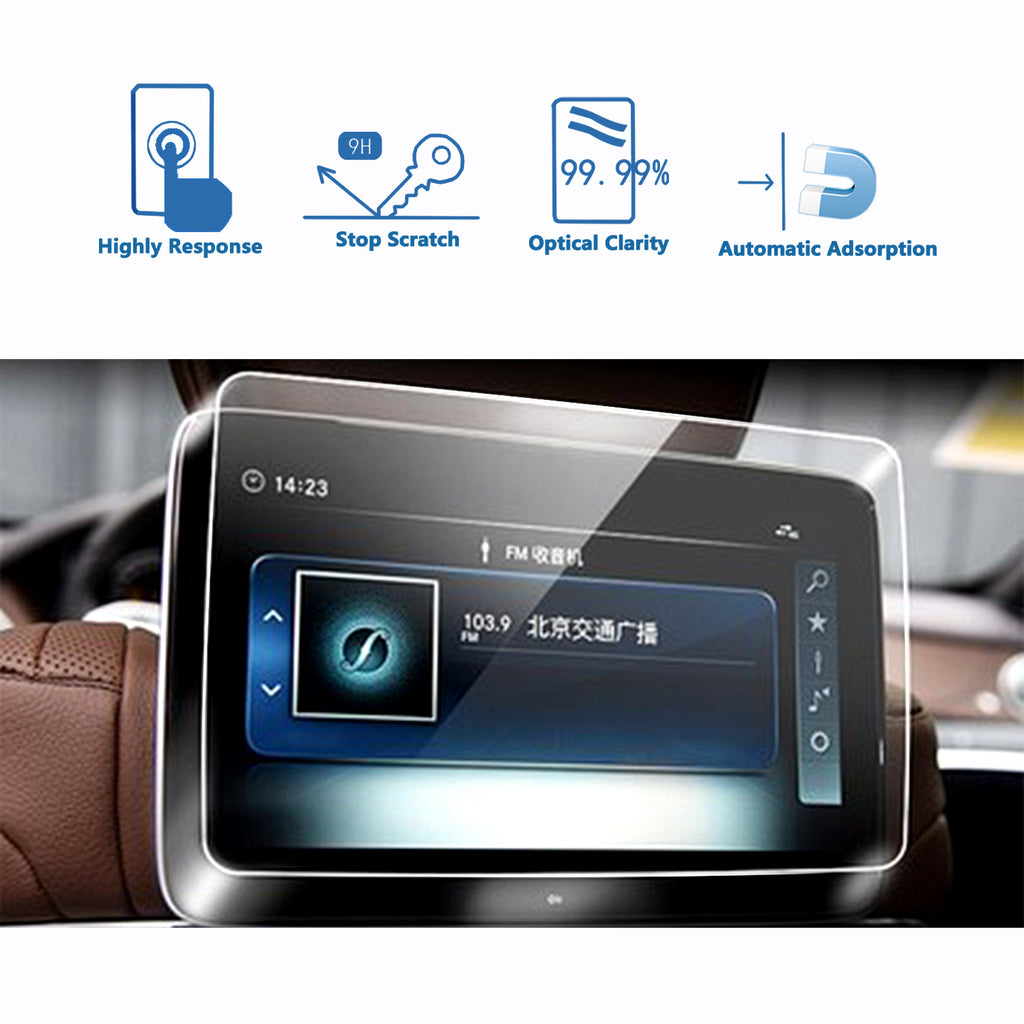 2018 2019 Mercedes Benz S-CLASS 12.3-Inch Rear Screen Protector
