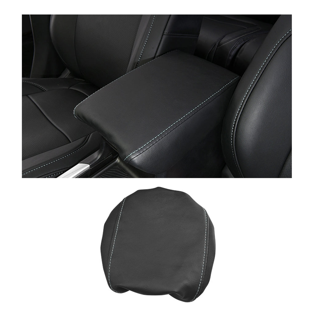 CRV-Interior-Accessories, Armrest-Cover-Compatible-for-Honda-CRV, Center-Console-Armrest-Box-Cover-Fiber-for-Honda-CRV-2017-2018-2019-2020