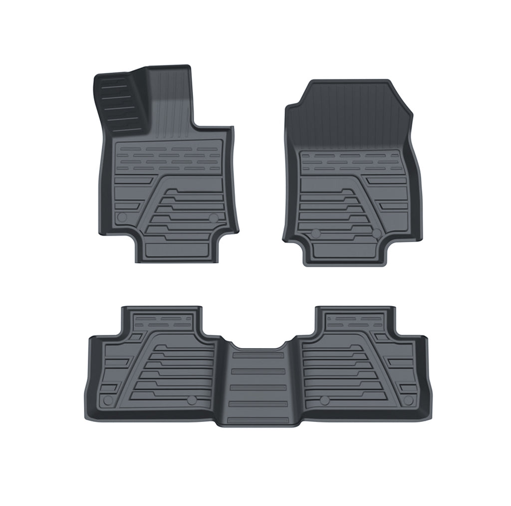 RAV4 Floor Mats Compatible for Toyota 2020,upgrade Version Rav4 Floor Liners,protection the Carpet from Pollutants (3)