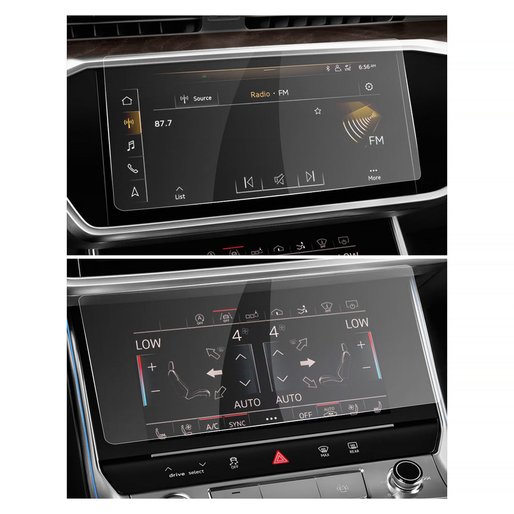 Audi A6 / A7 Display Beskermer & Air Conditioning Film