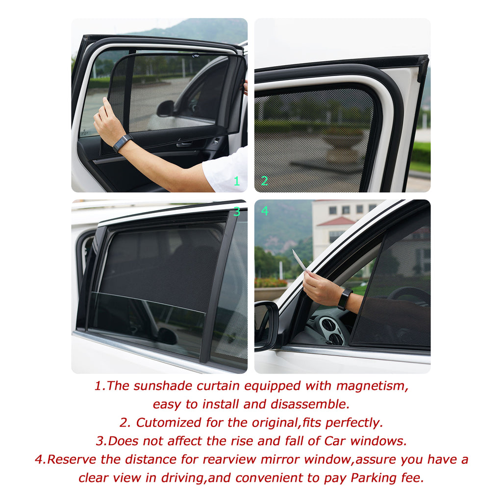 sunshade for driver side window legal