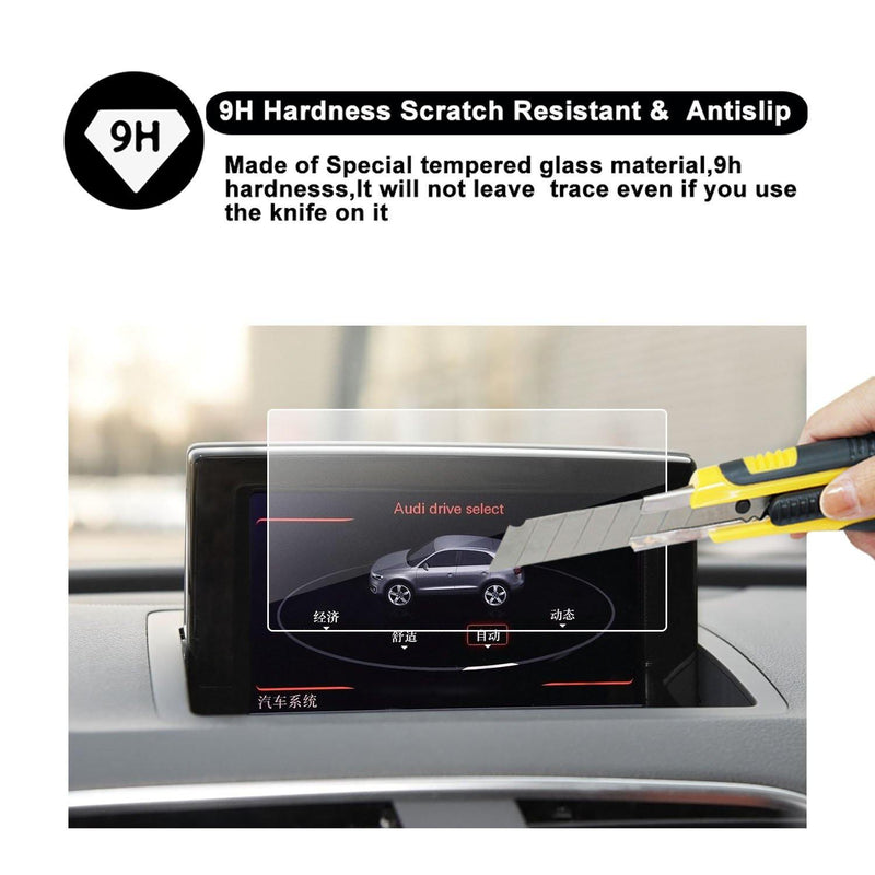 2011-2018 Audi A1/Audi S3/Audi Q3 Navigation Display GPS Screen Flim Protector(7-Inch)