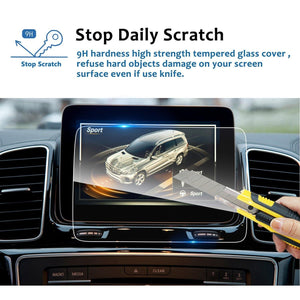 2012-2017 Mercedes-Benz GLE Class / Aicme GLS / Aicme GLA / G-Class / SUV 8-Inch Navigation Screen Protector