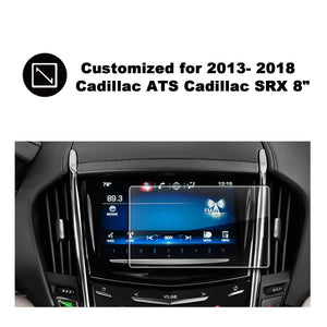 2013-2018 Cadillac ATS Cadillac SRX 8-Inch CUE Infotainment Interface Touchscreen Navigation Car Navigation Touch Screen Protector