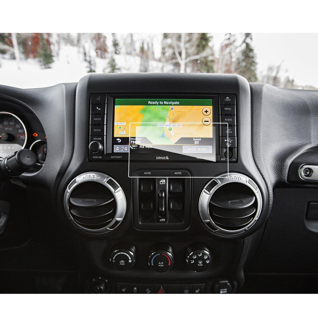 2013-2019 Jeep Wrangler  Uconnect 6.5-Inch Car Navigation Screen Protector