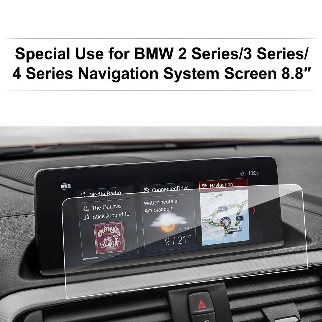 2014-2018 BMW 2 Series 3 Series 4 Series F22 F45 F30 F31 F34 F32 F33 F36 Navigation 8.8-inch Protector