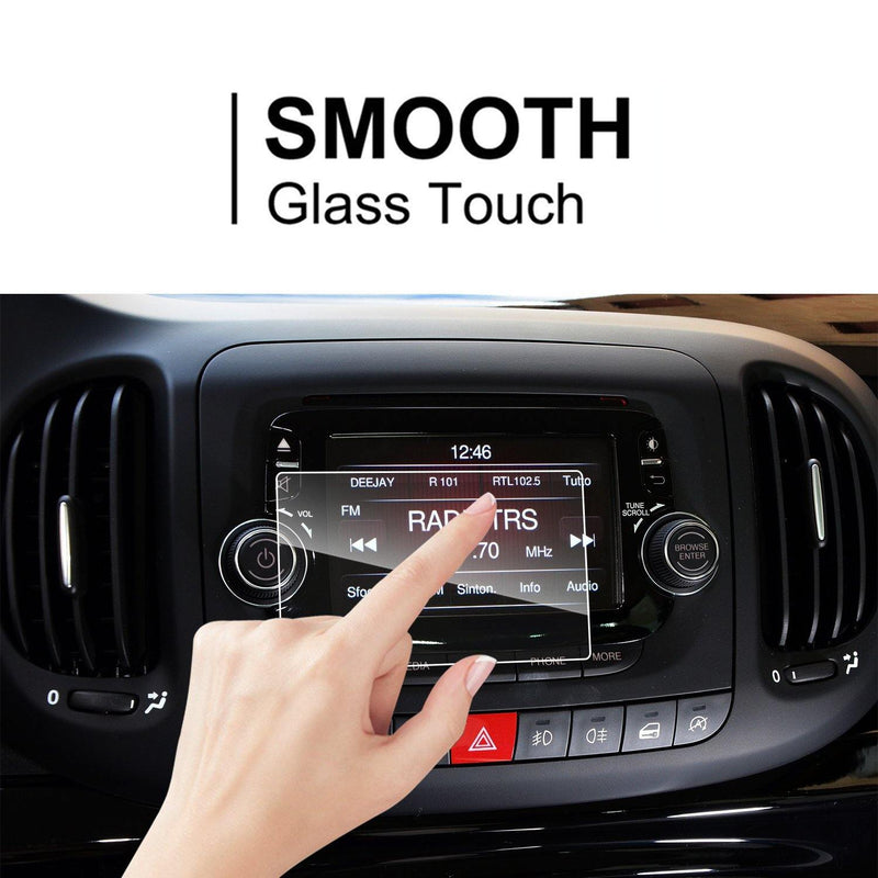 2014 -2019 FIAT 500L UConnect  5-Inch LFOTPP Car navigation Screen Protector