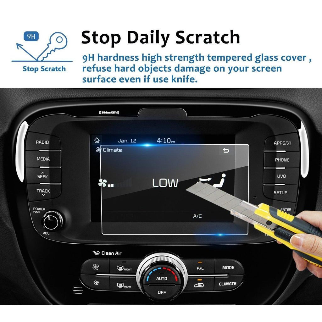 2014-2019 Kia Soul 7-Inch display screen protector