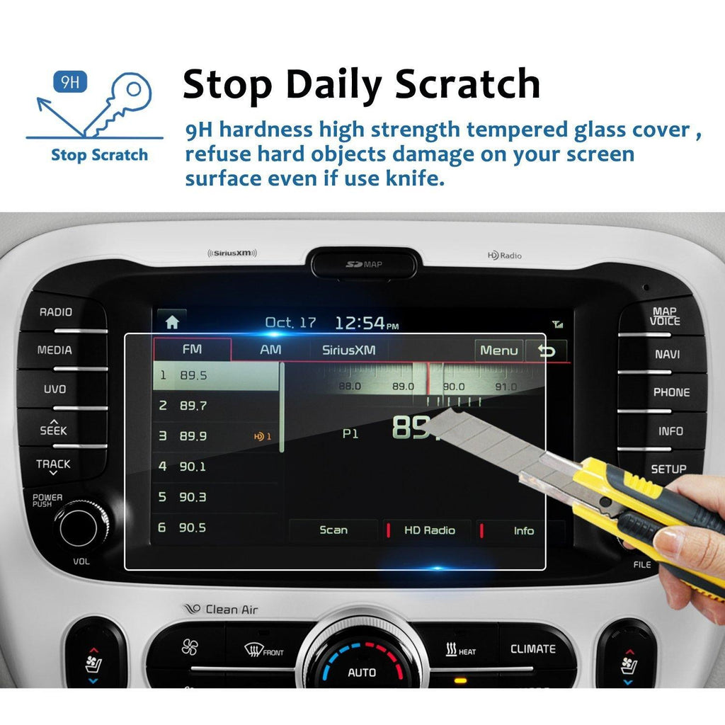 2014-2019 Kia Soul 8-Inch Display Screen Protector