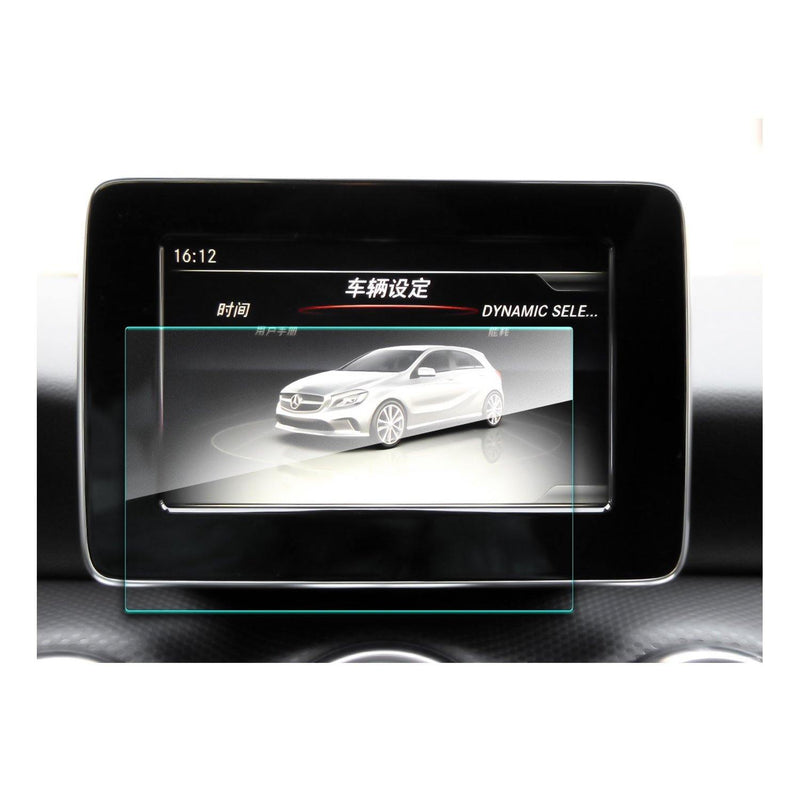 2014-2019 Mercedes Benz GLA-CLASS 7-Inch Navigation Screen Tempered Glass - LFOTPP