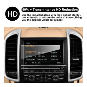 2015-2016 Porsche Cayenne / Porsche Macan Coupe / Hatchback 7-Inch in-Dash Navigation Screen Protector