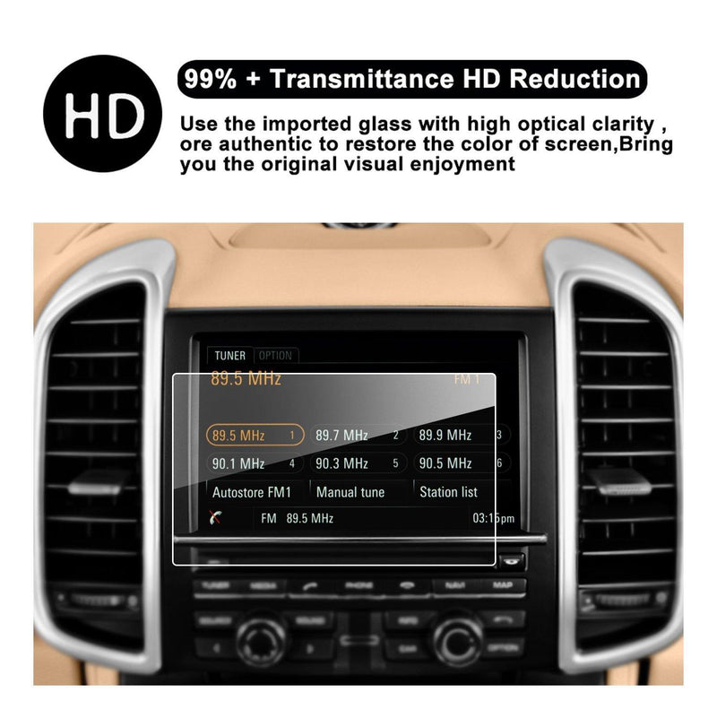 2015-2016 Porsche Cayenne/Porsche Macan Coupe/Hatchback 7-Inch in-Dash Navigation Screen Protector