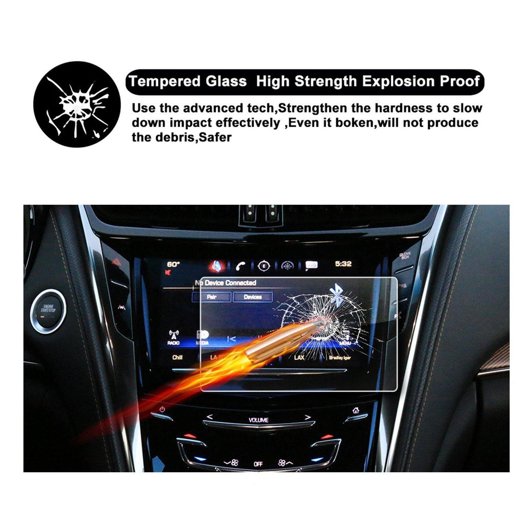 2015-2018 Cadillac CTS 8-Inch CUE Infotainment Interface Navigation Screen Protector