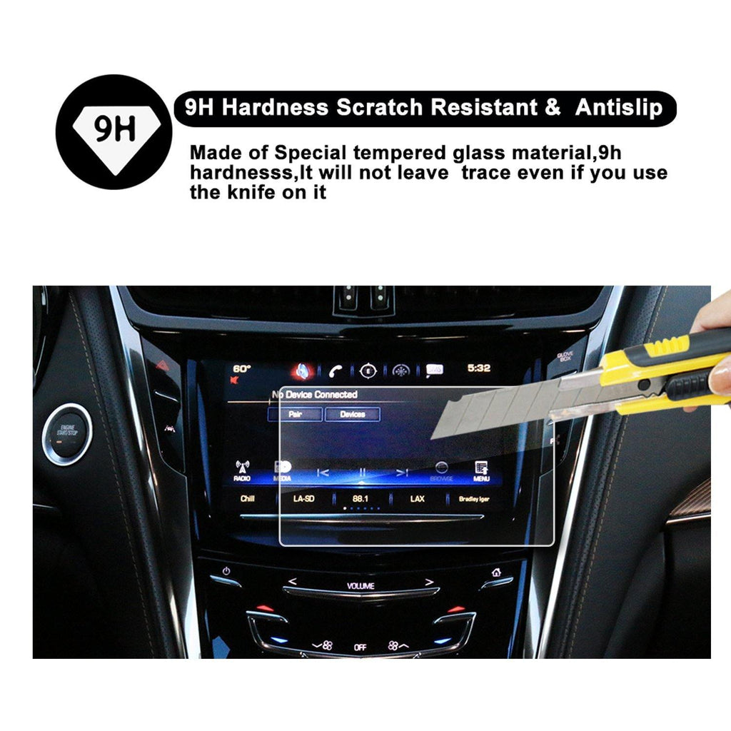 2015-2018 Cadillac CTS 8-Inch CUE Infotainment Interface Navigation Screen Protector - LFOTPP
