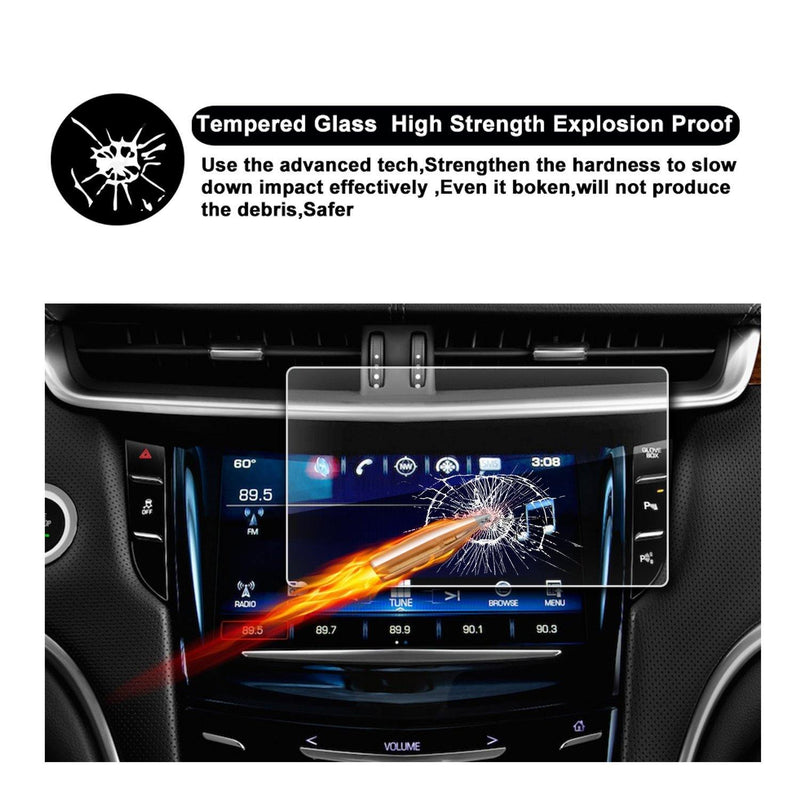 2015-2018 Cadillac XTS 8-Inch Display Navigation Screen Protector