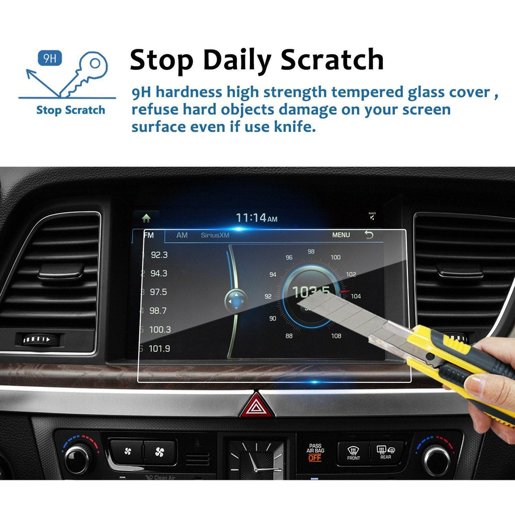 2015-2019 Hyundai 9-inch Display Screen Protector