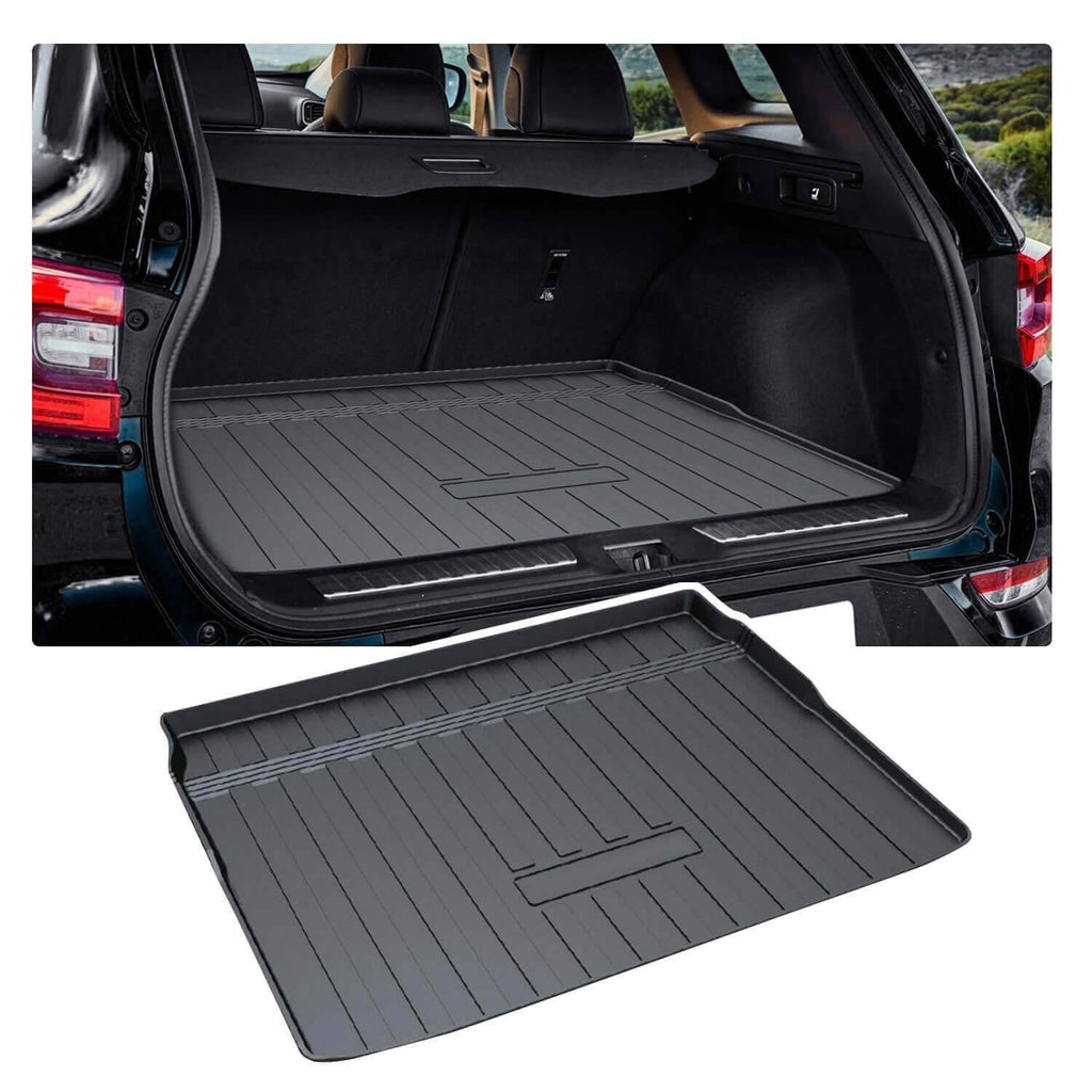 2015-2019 Renault Kadjar SUV Trunk Floor Tray Black Rubber All Weather Protection Waterproof Wear-Resistance-lfotpp-auto-parts.myshopify.com