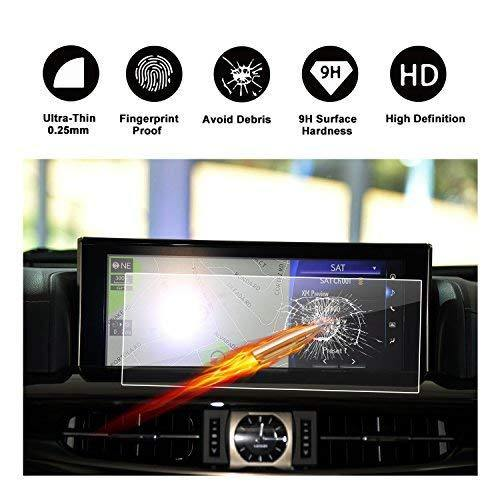 "2016 2017 2018 Lexus LX URJ201W 12.3"" Display Touch Screen Car Display Navigation Screen Protector"