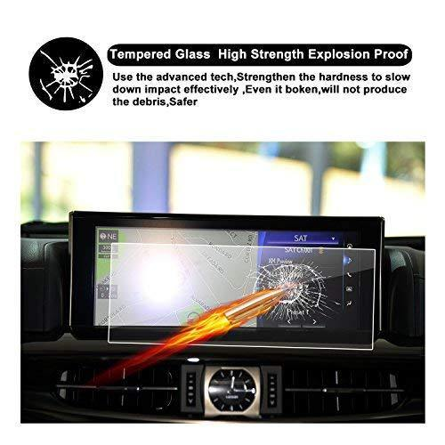 "2016 2017 2018 Lexus LX URJ201W 12.3"" Display Touch Screen Car Display Navigation Screen Protector - LFOTPP"