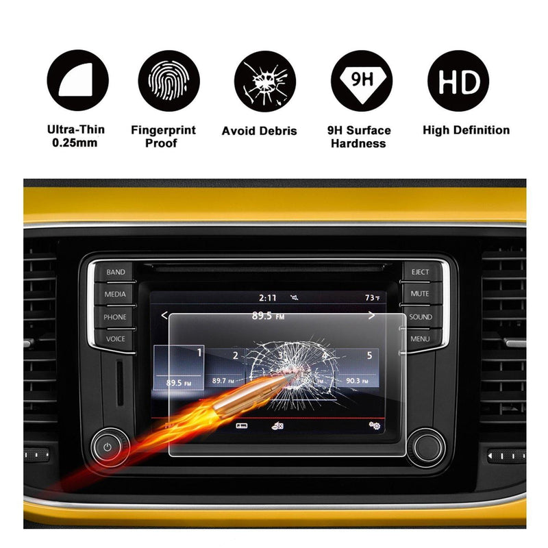 2016 2017 2018 Volkswagen Beetle 6.3-inch Composition display screen protector