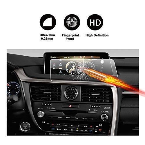 2016 2017 Lexus RX350 RX450 H F 12.3 Inch HD Crystal Clear Enform Navigation PET Plastic Film