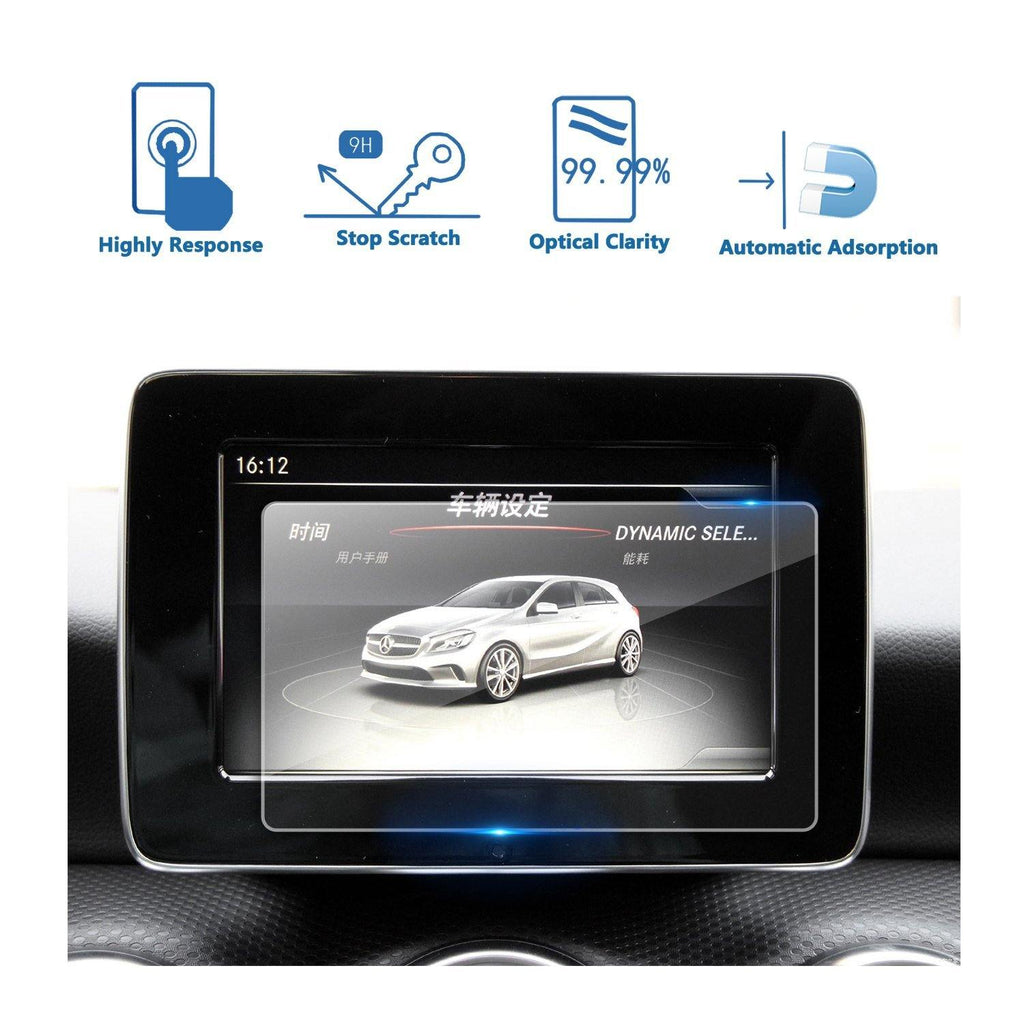 2016-2018 Mercedes benz A-CLASS (W176) 7-Inch Display Navigation Screen Protector - LFOTPP