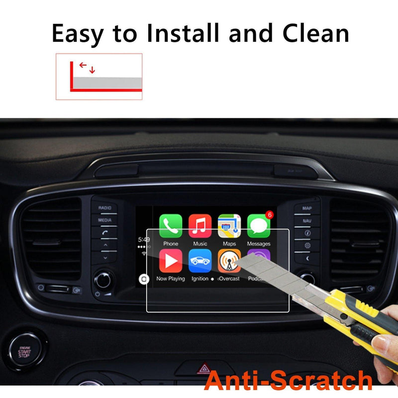 2016-2019 Sorento UVO 7-Inch Display Screen Protector - LFOTPP