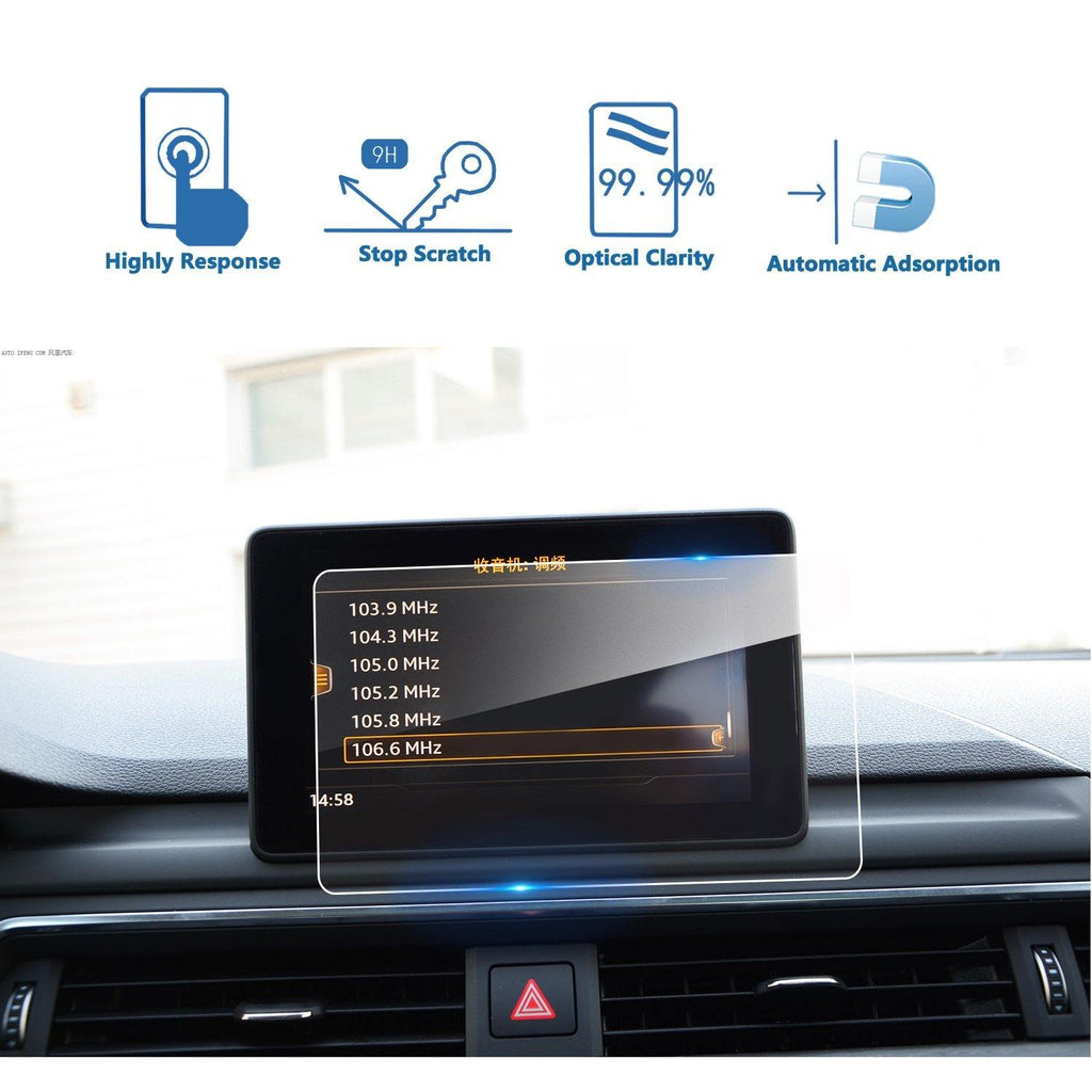 2017 2018 2019 Audi A4/Audi A5/Audi Q5 MMI Navigation Display GPS Screen Film Protector(7-inch/8.3-inch)