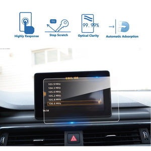 2017 2018 2019 Audi A4/Audi A5/Audi Q5 MMI Navigation Display GPS Screen Film Protector(7-inch/8.3-inch) - LFOTPP