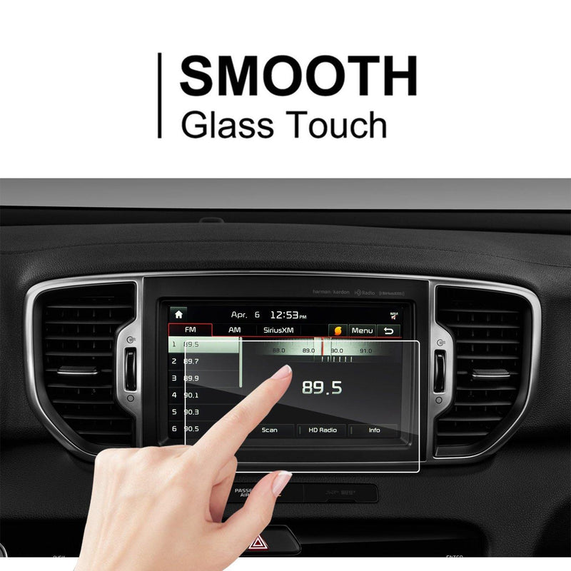 2017-2018 Sportage UVO 8-Inch Display Screen Protector