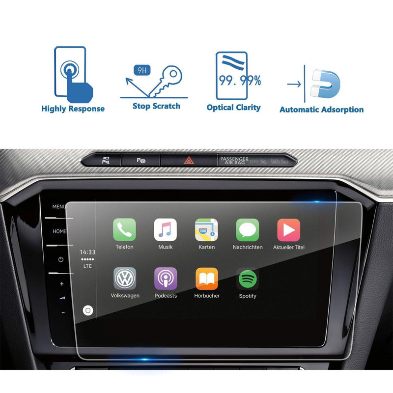 2017 2018 Volkswagen VW Passat Discover Pro 9.2-Inch Navigation Display GPS Screen Flim Protector