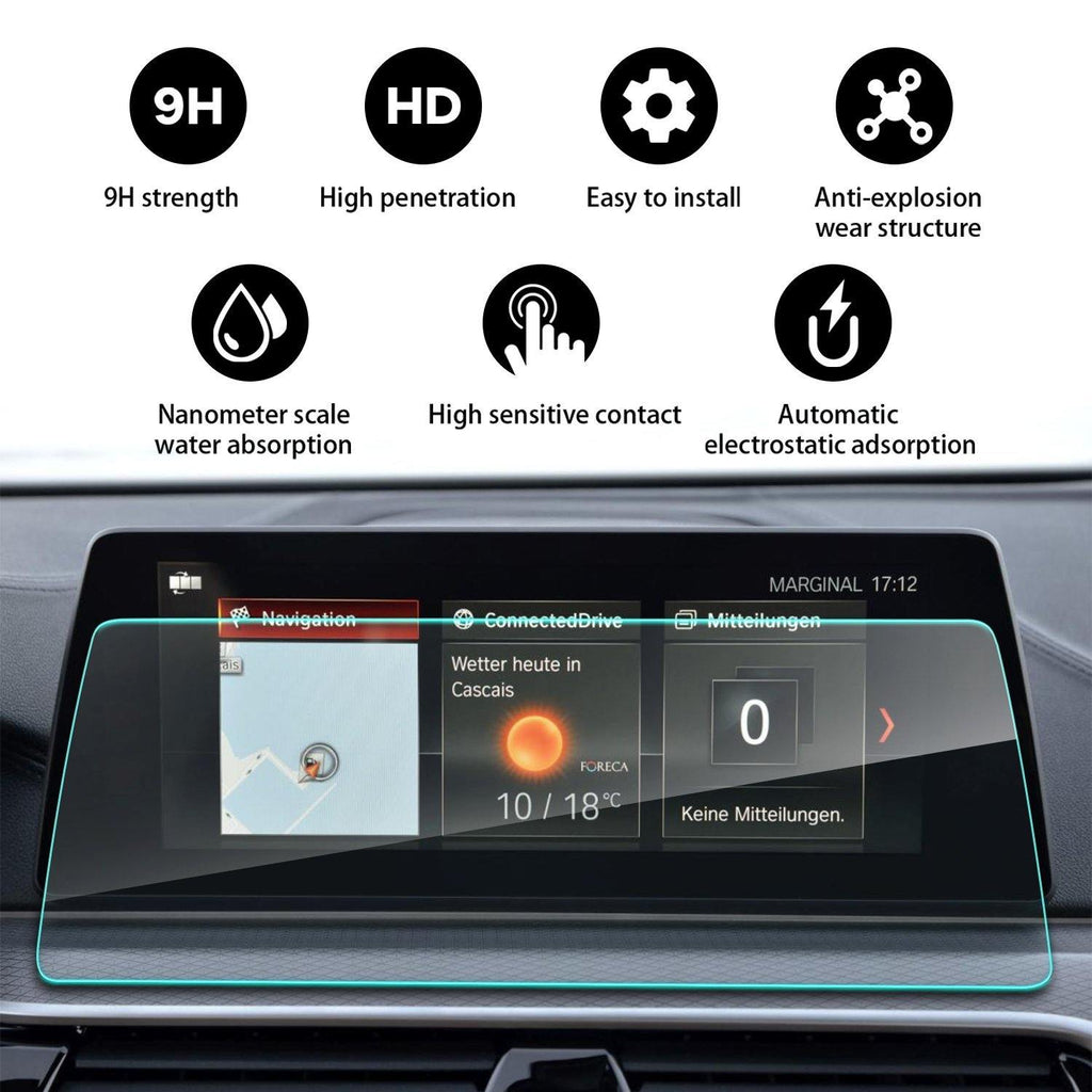 2017-2019 BMW 5 Series G30 Navigation Screen /Rear screen /Table screen Protector(1 Set:4PCS)