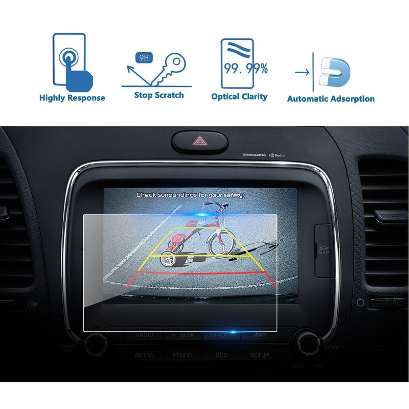 2017-2019 Kia Forte 7-Inch Car Navigation Screen Protector