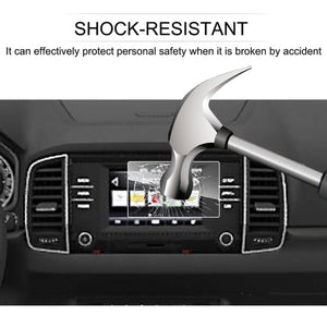 Siostam Infotainment Swing 2017-2019 Skoda Kodiaq / Karoq Swing 6.5-Inch Navigation Tempered Glass Film