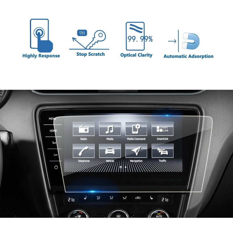 2017-2019 Skoda Octavia Screen Protector 9.2″ Display | Skoda Octavia Modification - LFOTPP