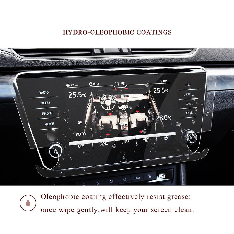 2017-2020 Skoda Superb Bolero Infotainment System Screen Protector 8″ Display | Skoda Modification - LFOTPP
