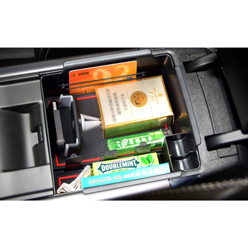 SKTU car storage box for 2017-2021 Renault Koleos QM6, modified Center Console Accessory Organizer, No logo-lfotpp-auto-parts.myshopify.com