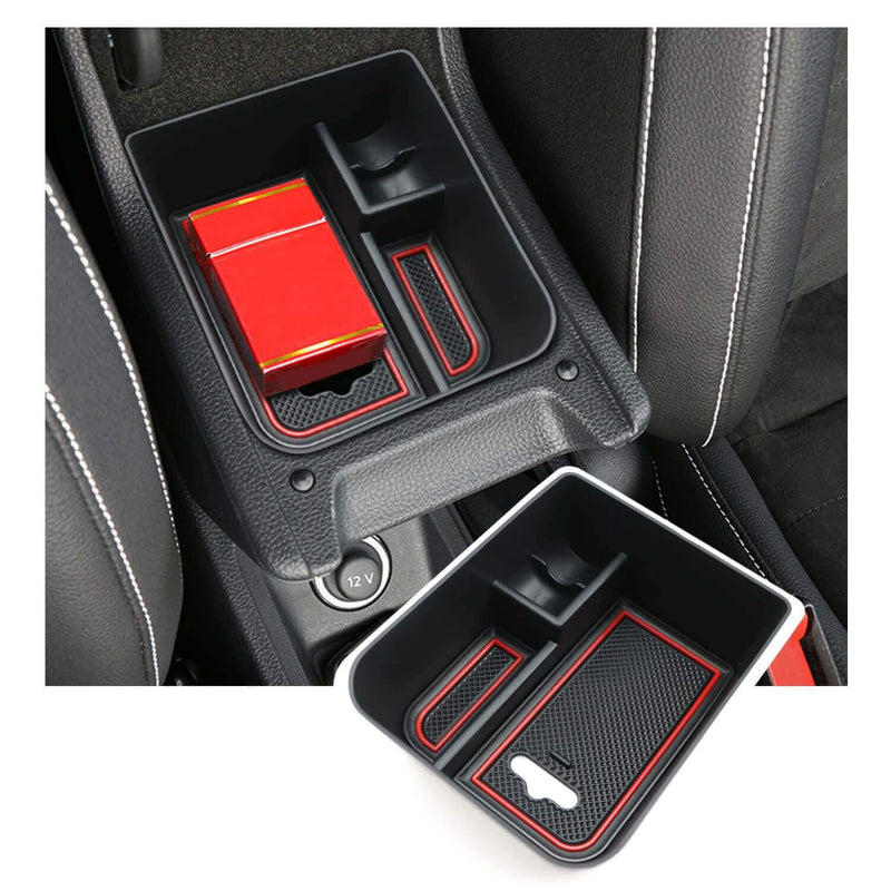 SKTU Car Center Console Storage Box 2017-2021 SEAT Ibiza Typ 6F/SEAT Arona SUV Glove Secondary Storage Box-lfotpp-auto-parts.myshopify.com