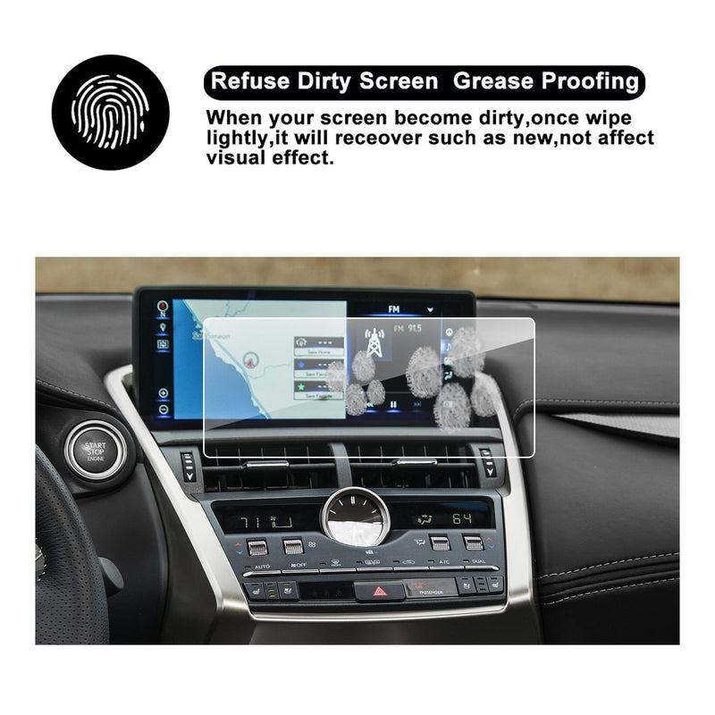 2018 LEXUS NX 300 Touch Screen Car Display TRAPEZOID Navigation Screen Protector, (10.3-Inch) - LFOTPP