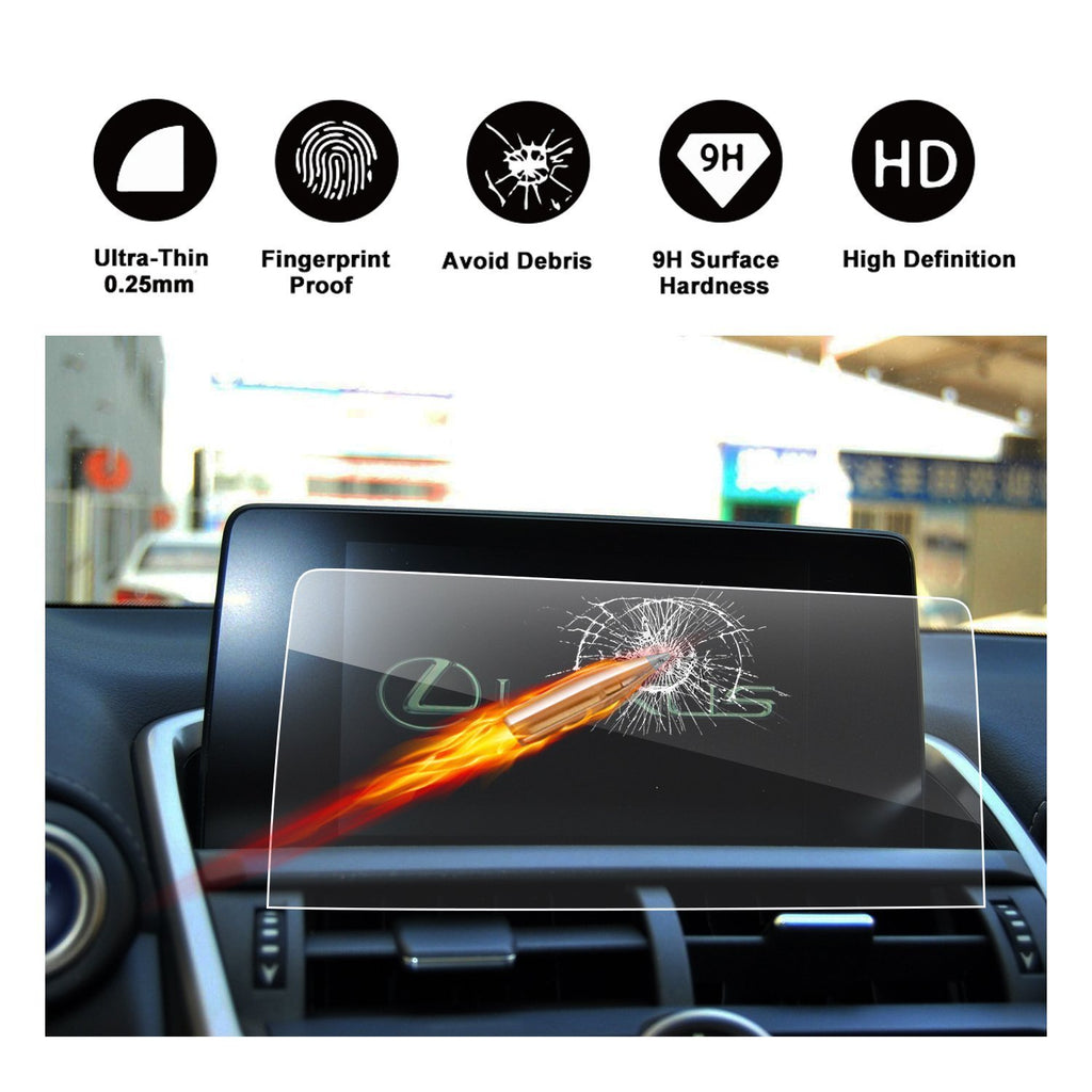 2018 LEXUS NX 300 Touch Screen Car Display TRAPEZOID Navigation Screen Protector (8-Inch) - LFOTPP