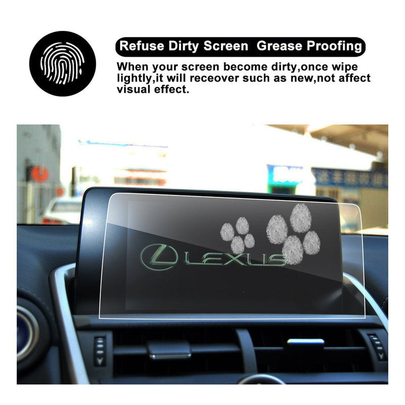2018 LEXUS NX 300 Touch Screen Car Display TRAPEZOID Navigation Screen Protector (8-Inch)
