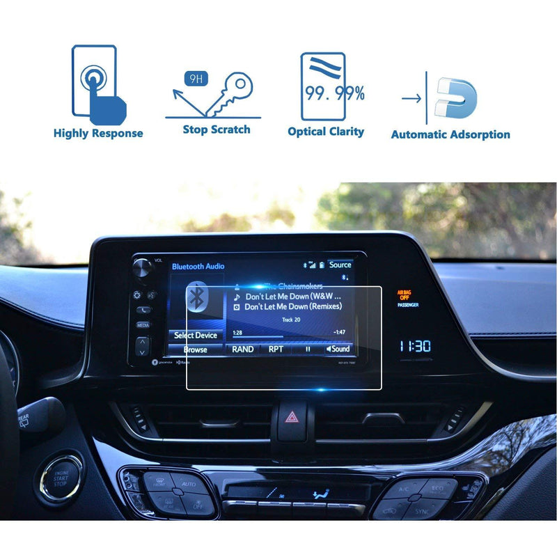 2018 Toyota C-HR  NGX50 ZYX10 Entune 7-Inch Display Screen Protector