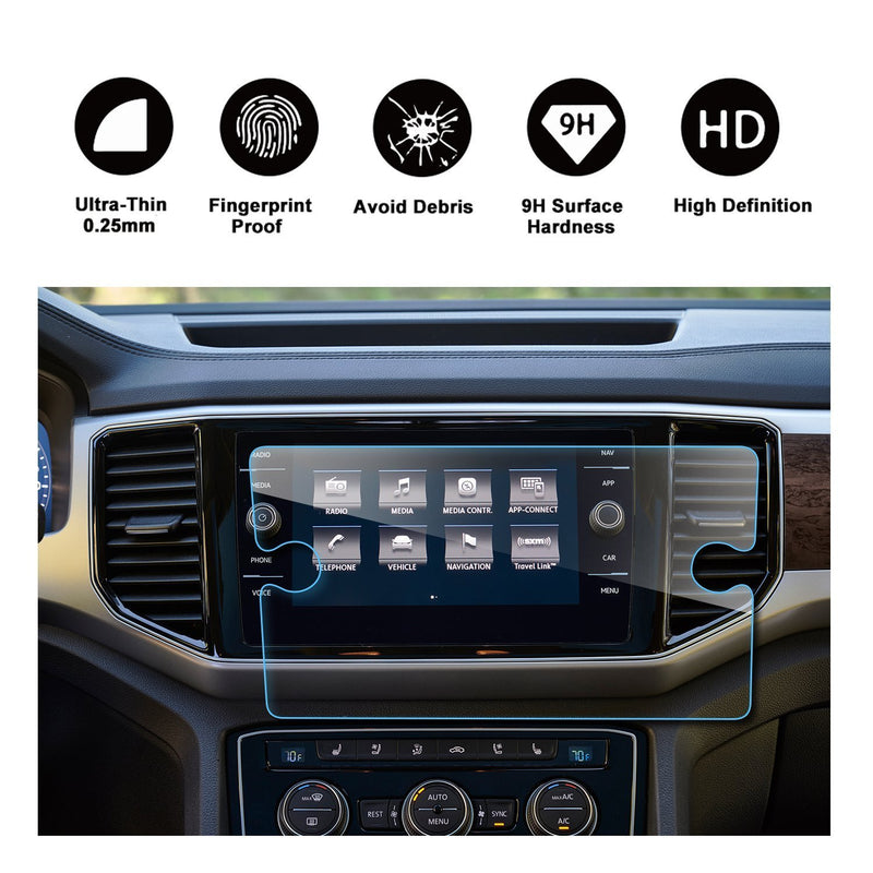 2018 Volkswagen Atlas Discover 8-Inch Display Navigation Screen Protector