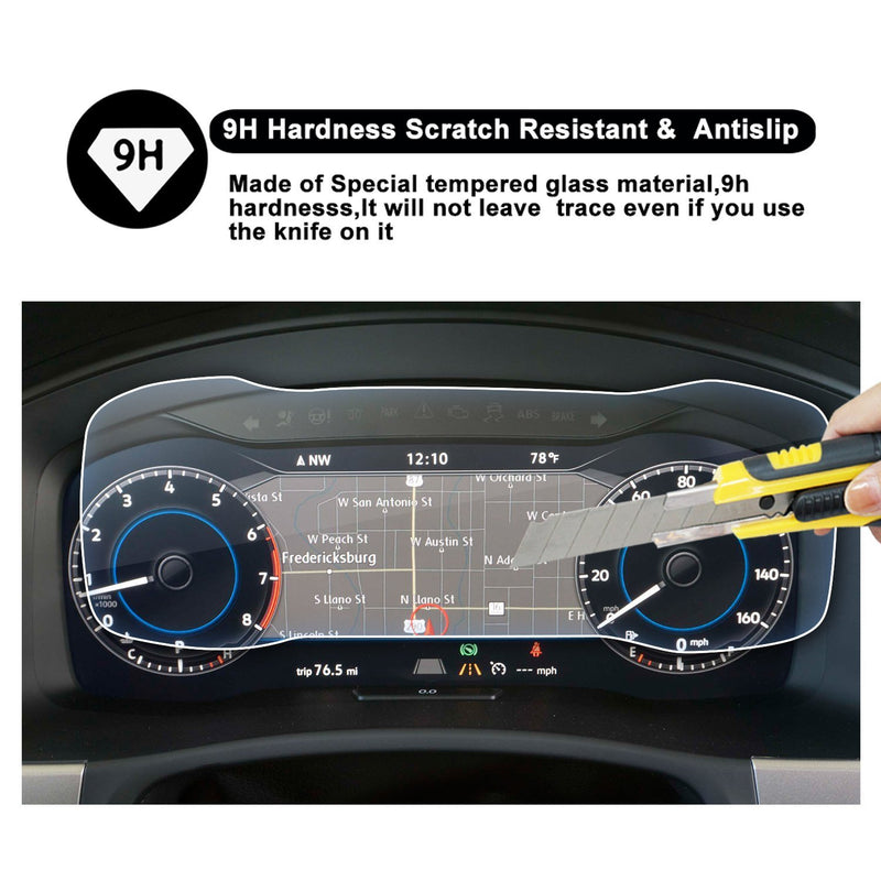 2018 Volkswagen Atlas Discover Dashboard 12.3-Inch Screen Protector