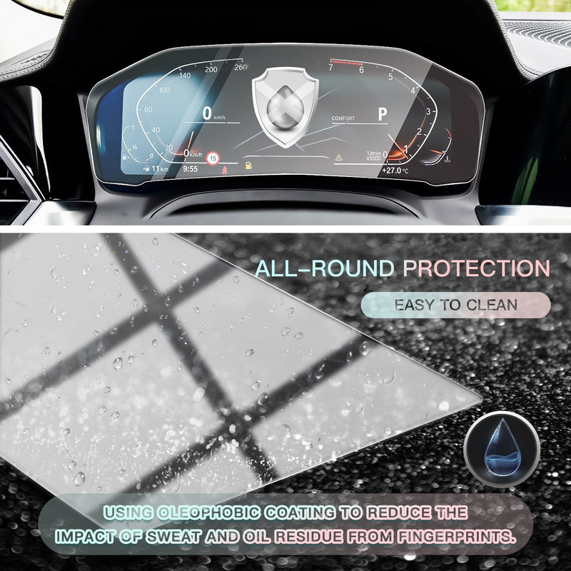 2019-2020 BMW 3 Series G20 Digital Dashboard Screen Protector 12.3-Inch (No Hole)