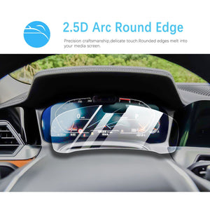 2019-2020 BMW 3 Series G20 Digital Dashboard Screen Protector | ເປີດຂຸມ (12.3-Inch)